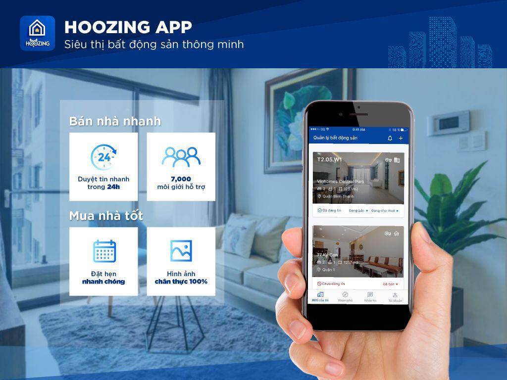 Hoozing App Banner 1