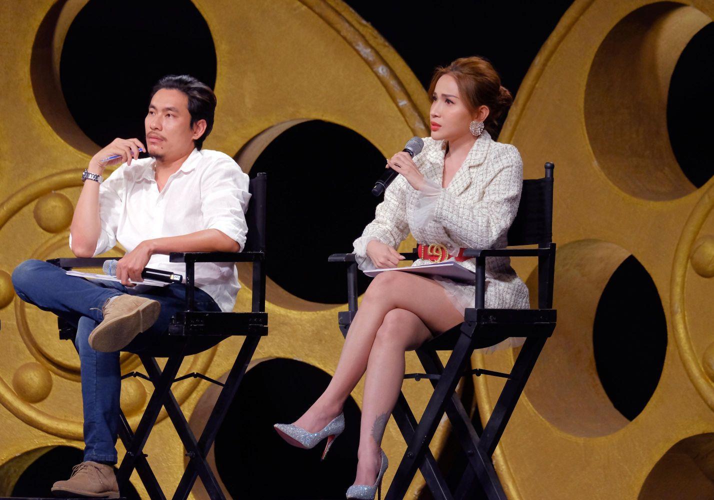 Khả Như hội ngộ Kiều Minh Tuấn trên ghế nóng Gương Mặt Điện Ảnh 2020