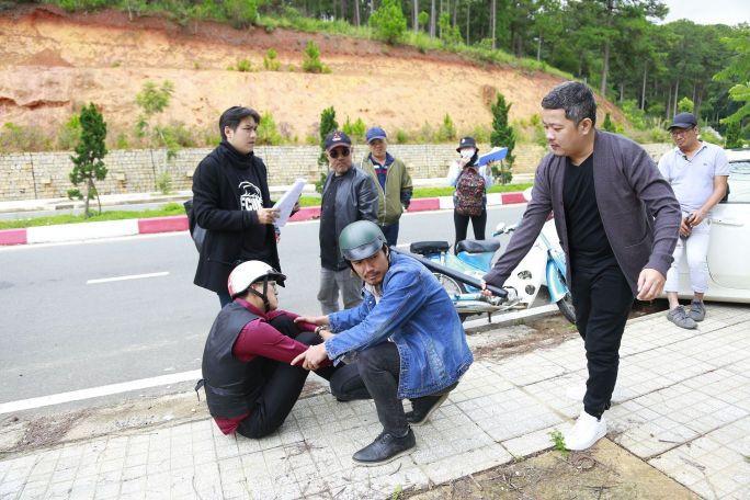 Quách Ngọc Tuyên lạ lẫm với vai diễn mới trong phim của đạo diễn Quốc Thuận