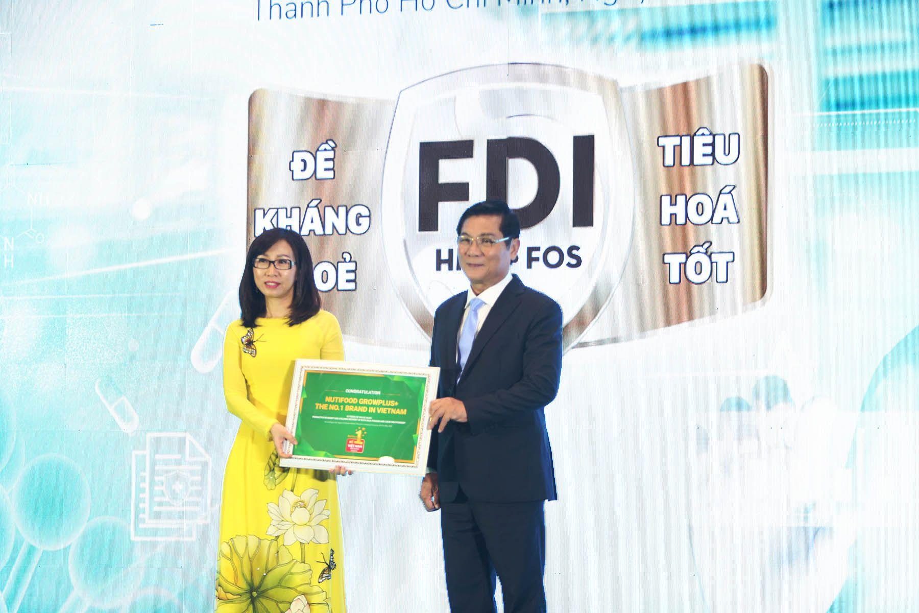 Nutifood Trở Thành Nhãn Hiệu Sữa Trẻ Em Số 1 Việt Nam