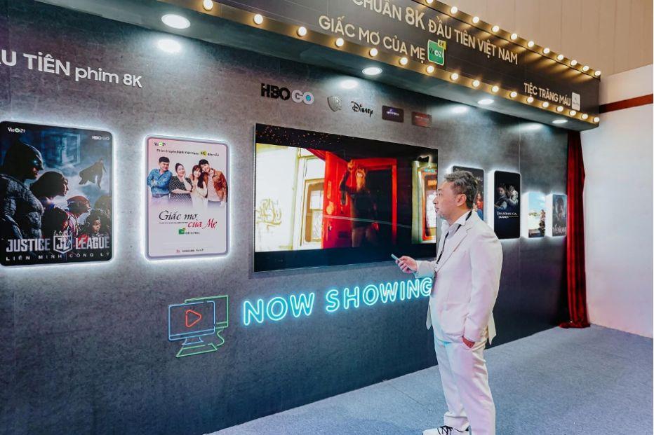 Dạo Diễn Nguyễn Quang Dũng Trải Nghiệm Vieon Trên Samsung