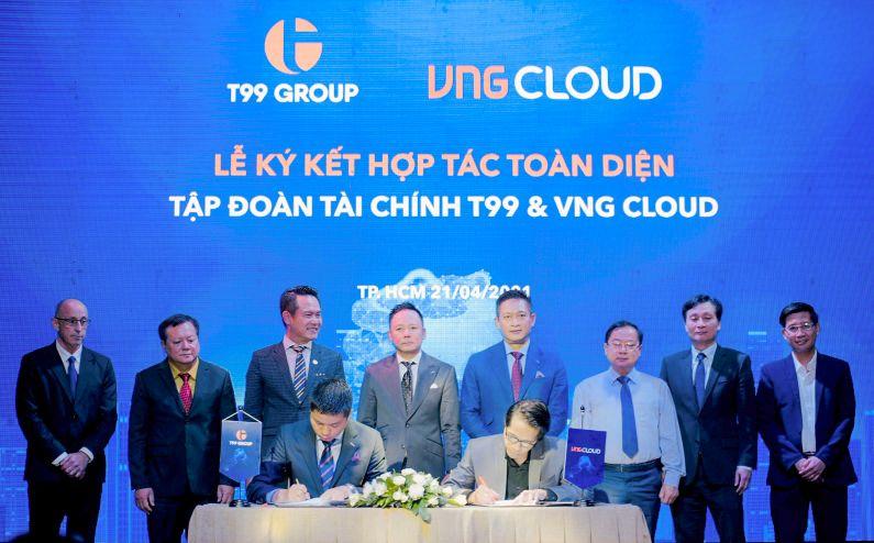 Hợp Tác Toàn Diện T99 Group Và Vng Cloud