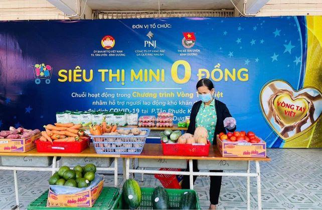 Nguoi Dan Mua Hang Hoa Thiet Yeu Tai Sieu Thi Mini 0 Dong 1
