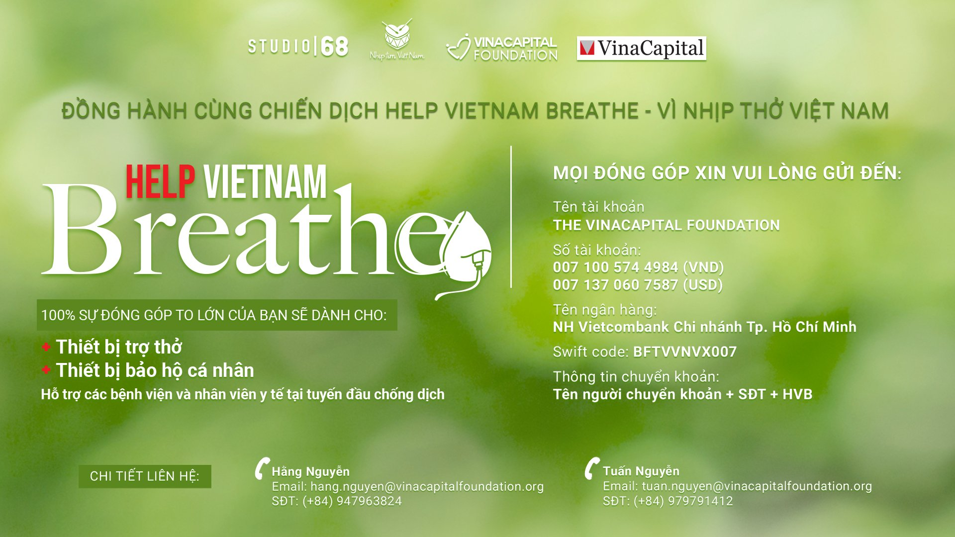 Vne Help Vietnam Breathe Banner