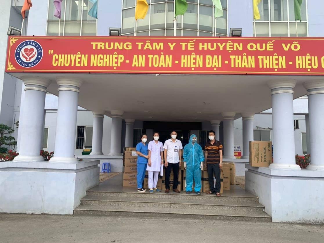 Tặng Vtyt Tại Ttyt Quế Võ Bắc Ninh