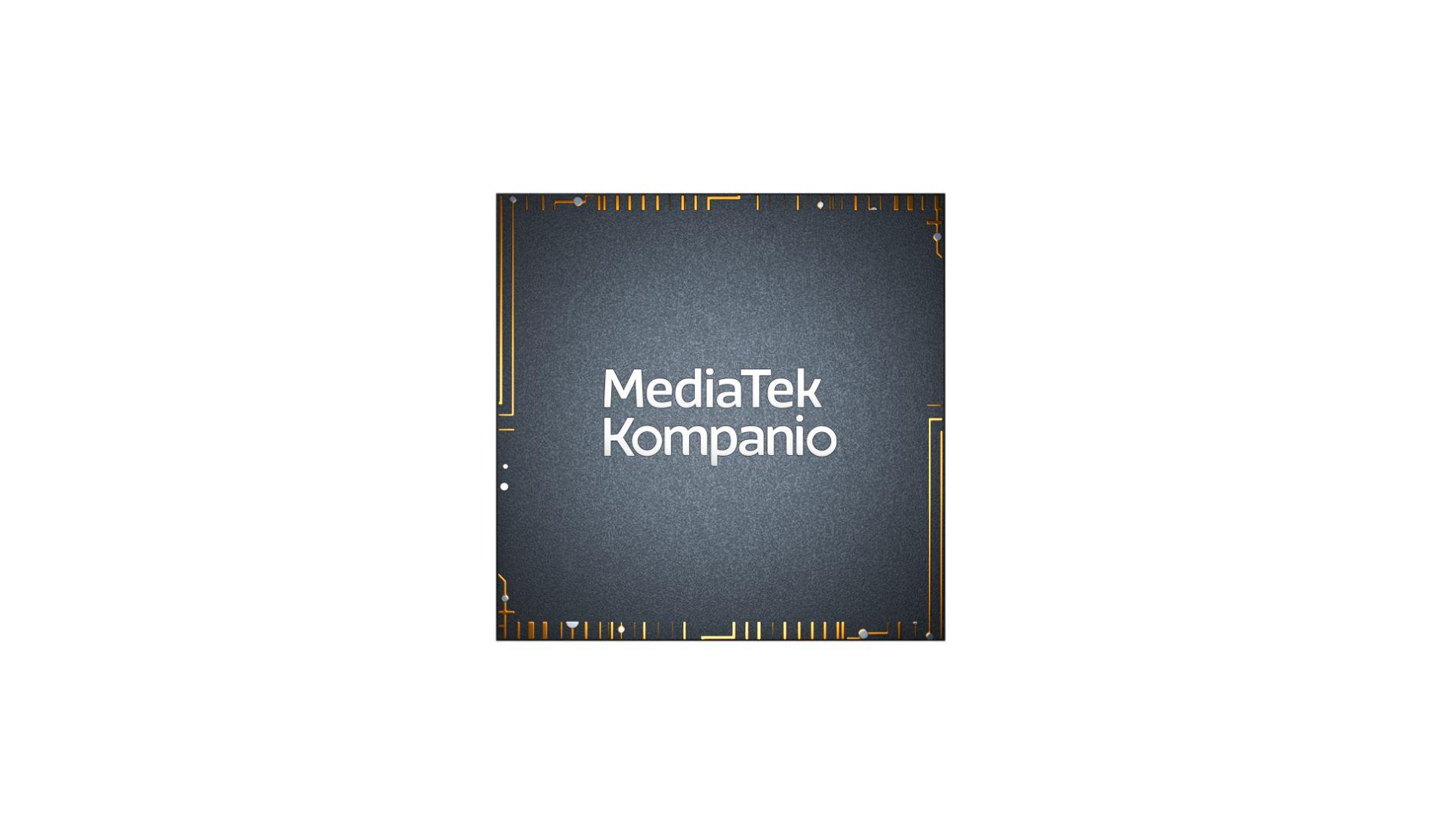 Mediatek Kompanio Chip Image Front